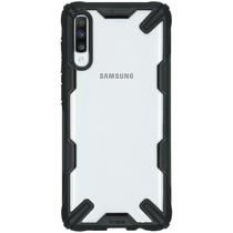 Ringke Fusion X Backcover Samsung Galaxy A70 - Zwart