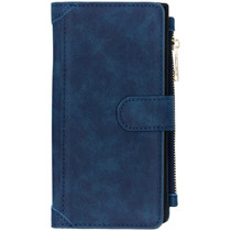 Luxe Portemonnee Samsung Galaxy Note 10 Plus - Donkerblauw