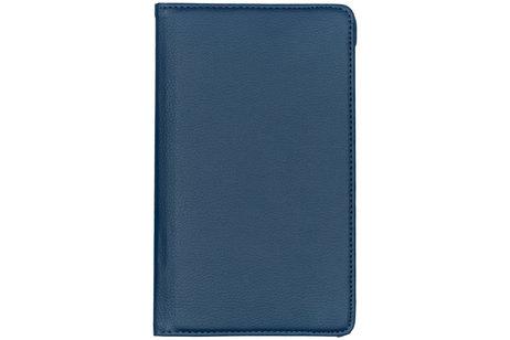 iMoshion 360° draaibare Bookcase voor de Samsung Galaxy Tab A 8.0 (2017) - Donkerblauw