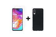 Selencia Gehard Glas Screenprotector + Softcase Backcover voor de Galaxy S10e - Transparant