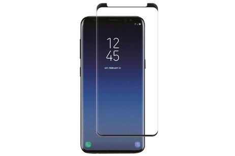 Samsung Galaxy S9 hoesje - Selencia Gehard Glas Screenprotector