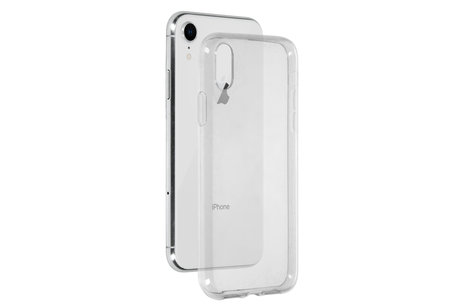 iPhone Xr hoesje - Selencia Gehard Glas Screenprotector