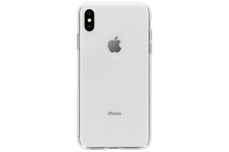 iPhone Xs Max hoesje - Selencia Gehard Glas Screenprotector