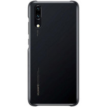 Huawei Color Backcover Huawei P20 - Zwart