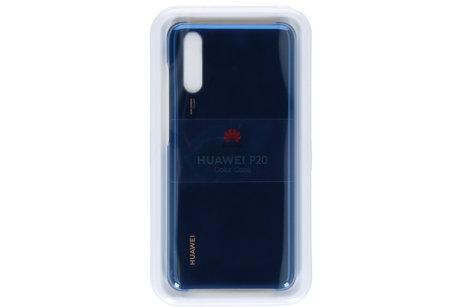 Huawei Color Backcover voor de Huawei P20 - Blauw