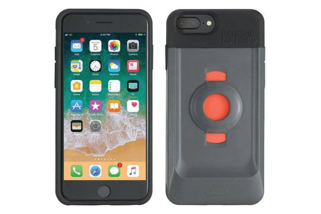 Tigra FitClic Neo Backcover + Bike Strap Mount voor de iPhone 8 Plus / 7 Plus / 6(s) Plus