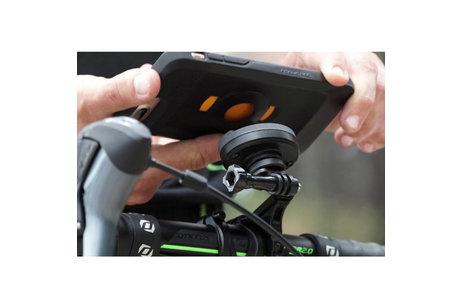 Tigra FitClic Neo Backcover + Bike Strap Mount voor de Samsung Galaxy S10