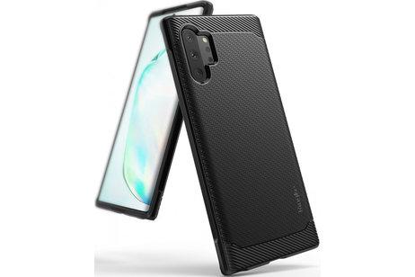 Ringke Onyx Backcover voor de Samsung Galaxy Note 10 Plus - Zwart