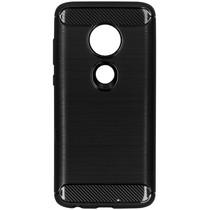 Brushed Backcover Motorola Moto G7 / G7 Plus - Zwart