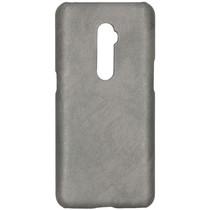 Kunststof Backcover Oppo Reno 10x Zoom - Grijs
