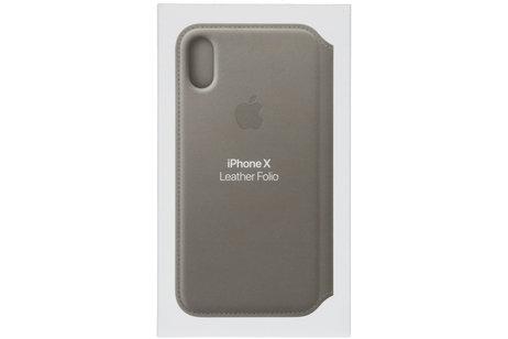 iPhone X hoesje - Apple Leather Folio Booktype