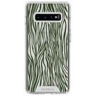 Selencia Design Impact Backcover voor de Samsung Galaxy S10 - Zazzy Zebra