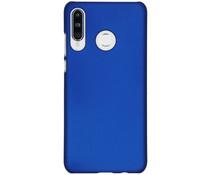 Effen Backcover Huawei P30 Lite - Blauw