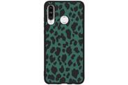 Design Backcover Color voor de Huawei P30 Lite - Panter Groen