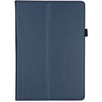 Effen Bookcase Lenovo Tab E10 - Blauw