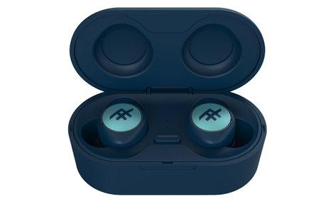 iFrogz AirTime Wireless Earbuds met oplaadcase - Blauw