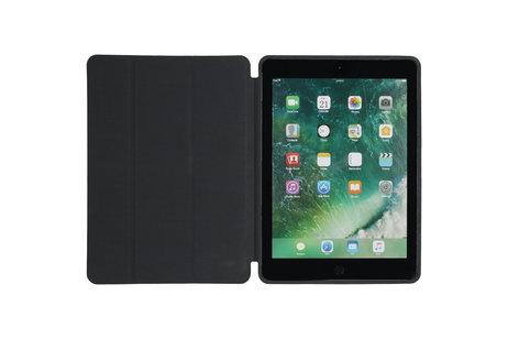 iMoshion Luxe Bookcase voor de iPad (2017) / (2018) - Zwart