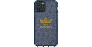 adidas Originals Basics Backcover iPhone 11 Pro - Shibori Blauw