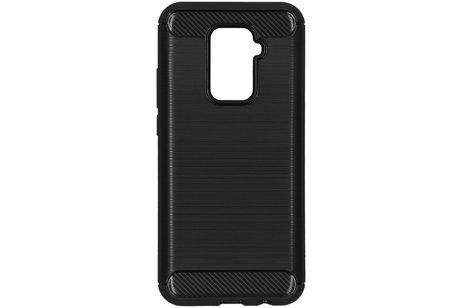 Huawei Mate 30 Lite hoesje - Brushed Backcover voor de