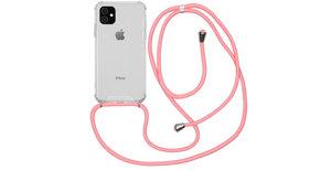 iMoshion Backcover met koord iPhone 11 - Roze