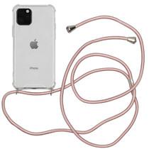 iMoshion Backcover met koord iPhone 11 Pro - Rosé Goud