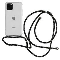 iMoshion Backcover met koord iPhone 11 Pro - Zwart Goud