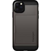 Spigen Slim Armor CS Backcover iPhone 11 Pro - Grijs