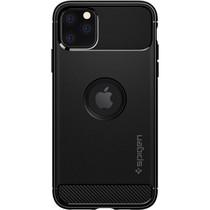 Spigen Rugged Armor Backcover iPhone 11 Pro - Zwart