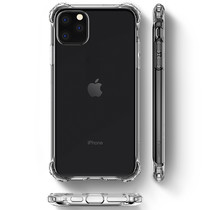 Spigen Rugged Crystal Backcover iPhone 11 Pro Max - Transparant