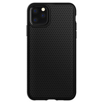 Spigen Liquid Air Backcover iPhone 11 Pro Max - Zwart