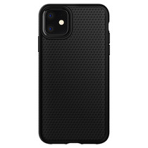 Spigen Liquid Air Backcover iPhone 11 - Zwart