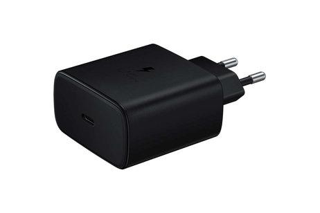 Samsung Super Fast Charging Travel Adapter + USB-C naar USB-C kabel - Zwart