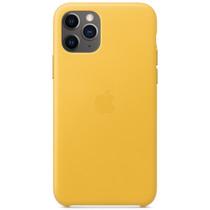 Apple Leather Backcover iPhone 11 Pro - Meyer Lemon