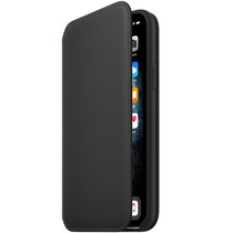 Apple Leather Folio Booktype iPhone 11 Pro - Zwart
