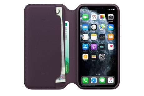 iPhone 11 Pro hoesje - Apple Leather Folio Booktype