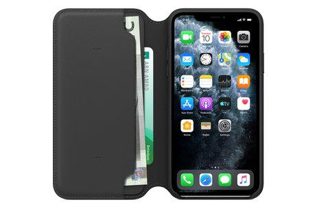 iPhone 11 Pro Max hoesje - Apple Leather Folio Booktype