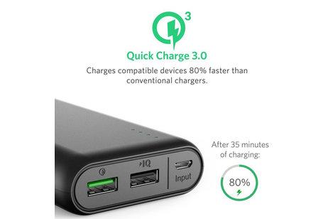 Anker PowerCore Quick Charge Powerbank - 20.000 mAh