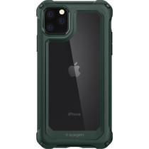 Spigen Gauntlet Backcover iPhone 11 Pro Max - Groen