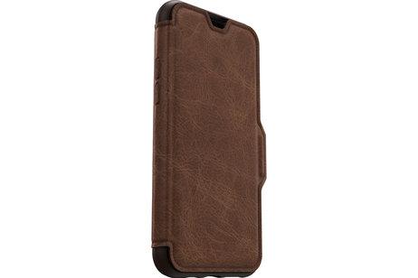 iPhone 11 Pro Max hoesje - OtterBox Strada Booktype voor