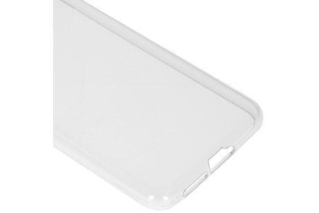 Softcase Backcover voor de Motorola Moto E6 Plus / E6s - Transparant