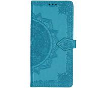 Mandala Booktype Huawei Mate 30 Pro - Turquoise