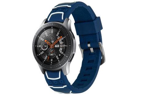 Samsung Galaxy Watch hoesje - iMoshion Design Siliconen bandje