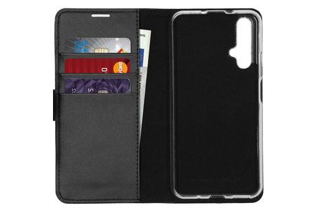 Azuri Book-style Wallet Case voor de Huawei Nova 5t / Honor 20 - Zwart