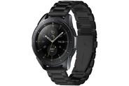 Spigen Modern Fit Steel Watch band voor de Samsung Galaxy Watch 42 mm - Zwart