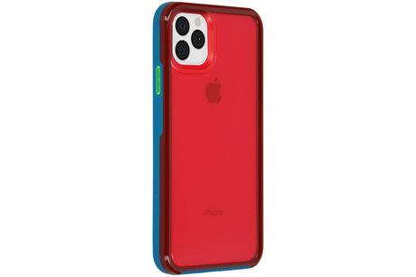 LifeProof Slam Backcover voor de iPhone 11 Pro Max - Blauw / Roze