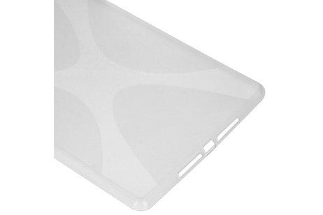 X-line Backcover voor de iPad 10.2 (2019) - Transparant