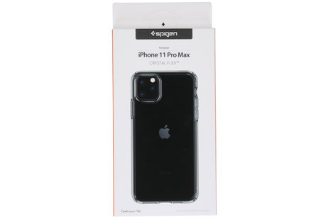 iPhone 11 Pro Max hoesje - Spigen Crystal Flex Backcover