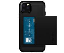 Spigen Slim Armor CS Backcover iPhone 11 Pro - Zwart