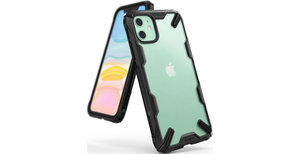 Ringke Fusion X Backcover iPhone 11 - Mat Zwart