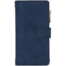 Luxe Portemonnee Huawei Mate 30 Lite - Donkerblauw